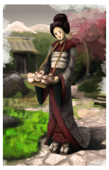 Цветочница Юми