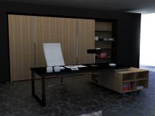 3д модель кабинета
