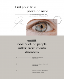 Дизайн-концепт для психолога