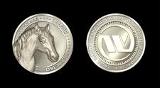 Золотая монета WOG