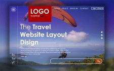 Дизайн для сайта турагенства