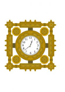 вектор годинник
