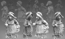 Скульптура персонажа