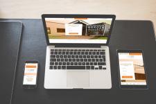 Одностраничный сайт для покупки секционных ворот