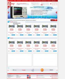 Дизайн интернет-магазина электроинструментов