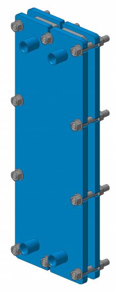 Расчёт и проект пластинчатого маслоохладителя