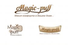 Логотип для мебельной компании Magic-puff