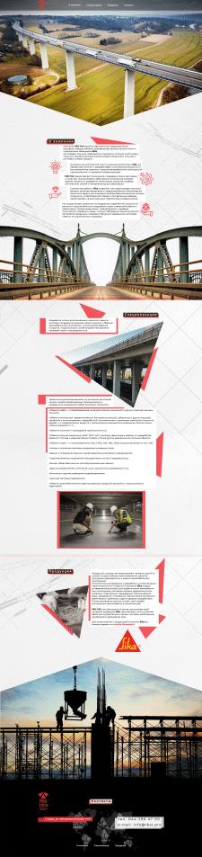Дизайн сайта-визитки RSB Tech