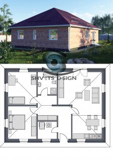 Моделирование частного дома