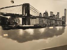 """Роспись стены """"Бруклинский Мост"""""""