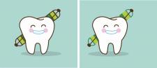 Зуб в векторе