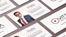 O.Vitta Training Company Business Card