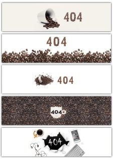 Баннер с ошибкой 404