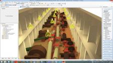 Проект освещения цеха 2