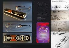 Дизайн чехла для очков «Чардаш на Купала»