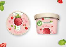 дизайн стаканчика мороженого