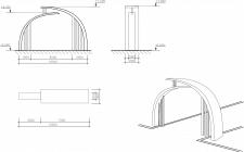 Разработка входной арки в парк