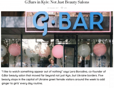 G.Bars in Kyiv: Not Just Beauty Salons
