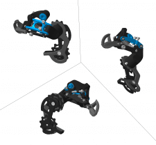 Sram X0 Rear Derailleur BlackBox Short Kage Type1