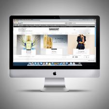 серия банеров для интернет магазина одежды