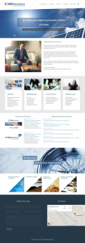 """Корпоративный сайт InVenture """"Investment Group"""""""