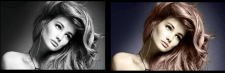Покраска черно-белой фотографии