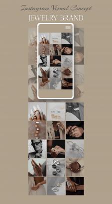 Instagram Page Design