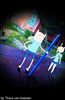Adventure Time =) Обработка фото