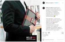 Написание превью для статьи в Instagram