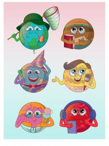 Иконки для сайта детского лагеря