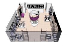 Визуализация магазина. Выполнено в  Sketch-UP.