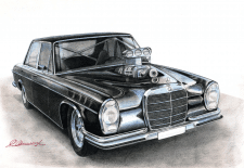 Mercedes W108 Supercharged