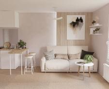 Дизайн апартаментов во Франции