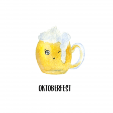 Oktoberfest is a traditional beer drink.