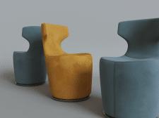 Моделирование и визуализация, кресло