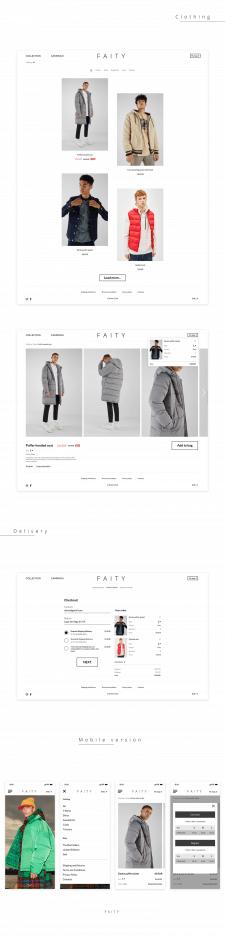 Faity Store Design