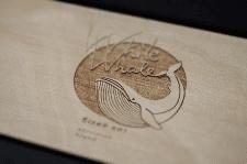 Логотип для украинского бренда одежды White Whale