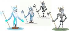 Кощей Разработка персонажа