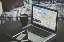 Интерфейс для сайта путешествий