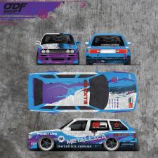 Дизайн оклейки гоночного авто