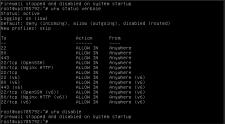 Настройка конфигурации сервера