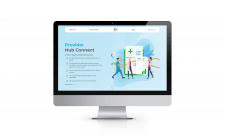 Cайт компанії-провайдера ПЗ для медичних послуг