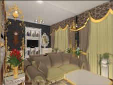 Дизайн интерьера квартиры в стиле артдеко