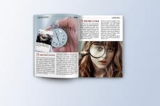 Дизайн, верстка и подготовка журнала к печати