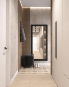 Дизайн-проект Казань 2021 прихожая