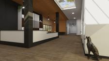 Визуализация вестибюля приюта для животных