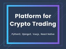 Platform for Crypto Trading