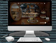 Elegant bakery - сайт восхетительной выпечки)
