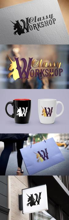 Classy Workshop. Логотип