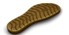 3D модель підошви